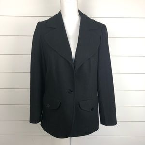 Pendleton Two Piece Vintage Wool Suit Black